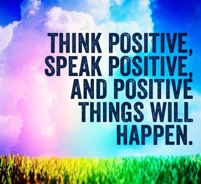 An Alternative To Panic: Think Positive!
